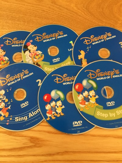 DWE,DVD sing along